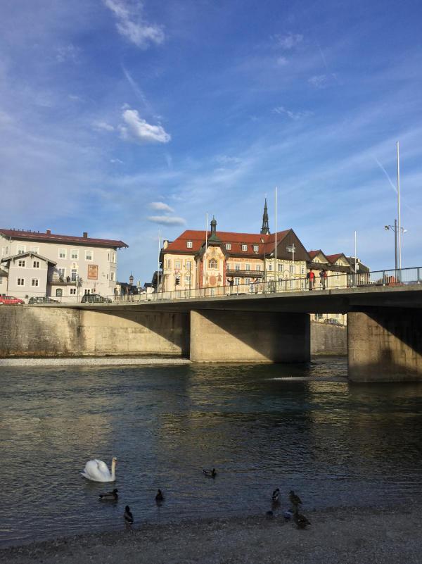Bad Tölz Isarradweg Radtour schön