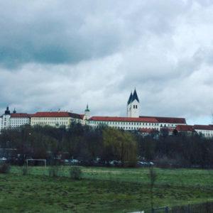Freising - Blick auf den Freisinger Dom - An der Isar entlang - Radtour