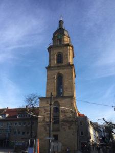 Heilbronn Kirche - Unterkunft Neckarradweg
