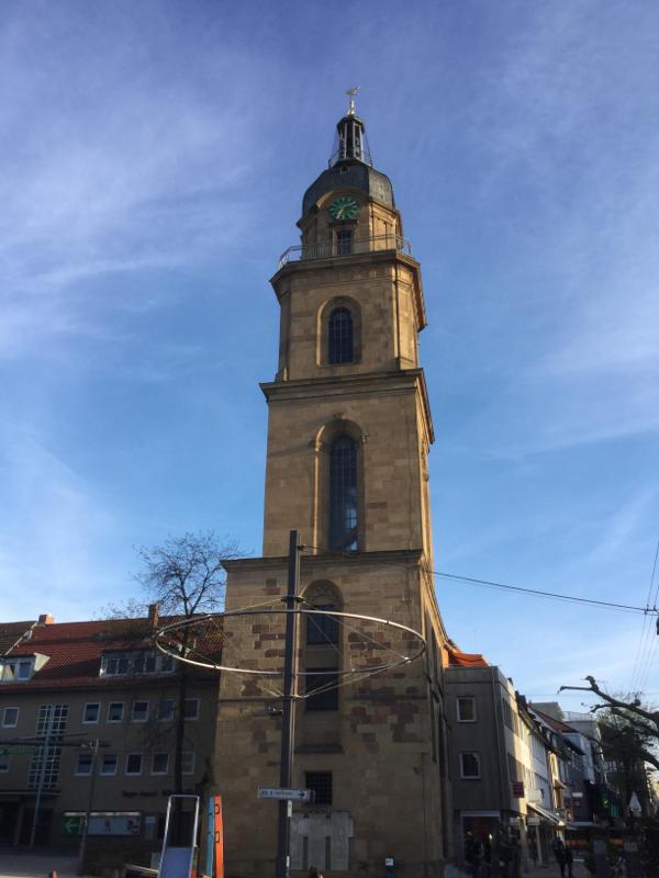Heilbronn Kirche Neckarradweg