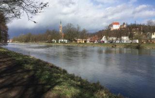 An der Isar entlang - Landshut - Isarradweg