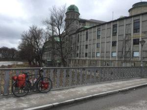 Isarradweg-Tour Museumsinsel München Deutsches Museum Radtour