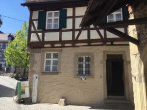 Geburtshaus Friedrich Schiller in Marbach am Neckar - Neckarradweg