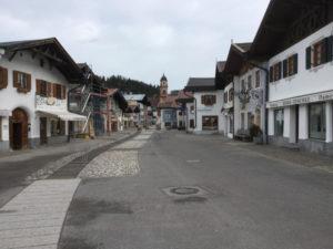 Mittenwald Isarradweg Isarursprung bei Scharnitz