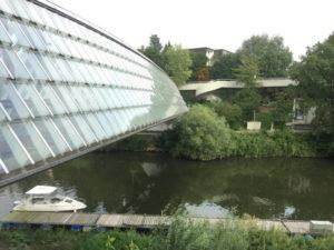 Remstal-Brücke beim Neckar und der Rems - Neckarradweg