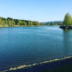 Stausee Rainau-Buch - Unmittelbar beim Limes-Park