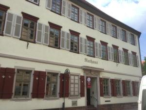 Rathaus in Sulz am Neckar - Unterkünfte in Sulz