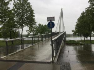 Passerelle des Deux Rives - Brücke der zwei Ufer - Brücke zwischen Kehl und Straßburg