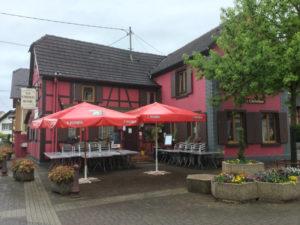 Souffelweyersheim Restaurant Innenstadt - Radweg zu den Forts - Piste des Forts