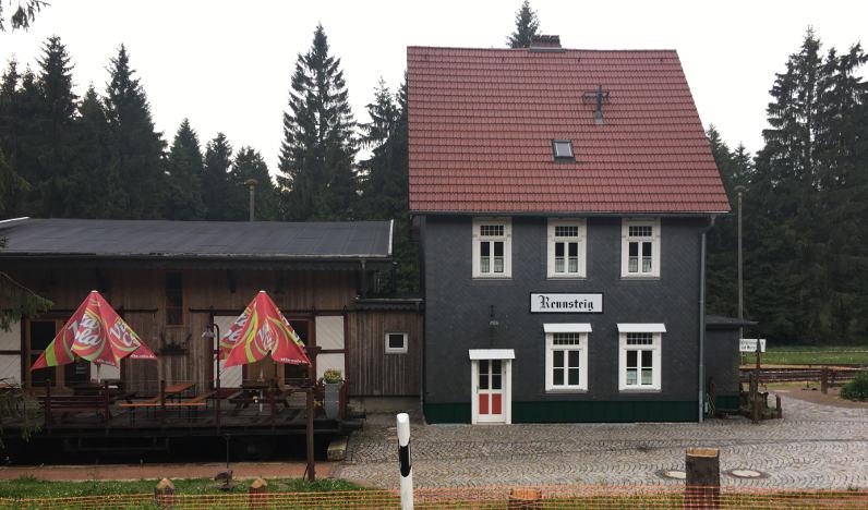 Bahnhof Rennsteig - Rennsteig-Radweg Blankenstein - Oberhof