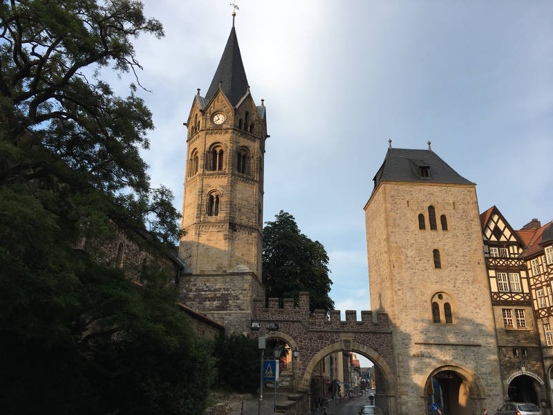 Stadttor Nikolaitor Eisenach - Thüringer Städtekette