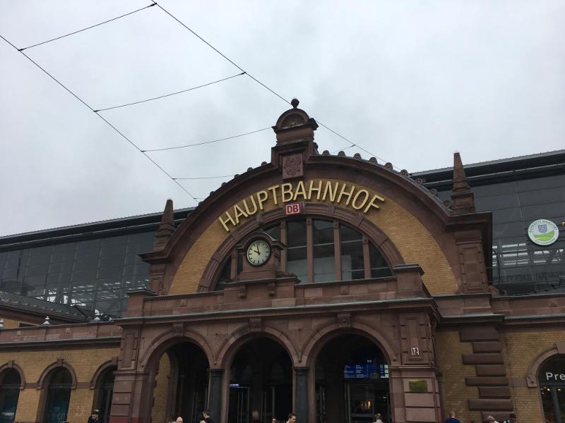 Bahnhof Erfurt - Fahrradmitnahme kompliziert