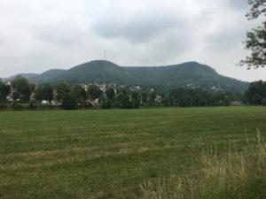 Jena Ortsausgang - Blick in die Natur