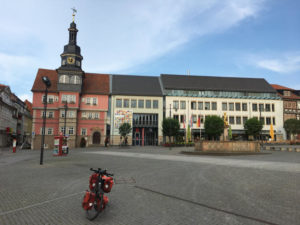 Marktplatz Eisenach - Thüringer Städtekette