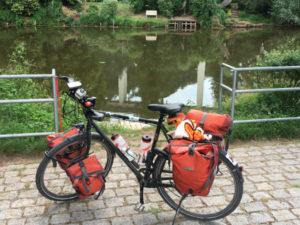 Werra Hörschel - Fahrrad - Eisenach - Rennsteigradweg - Thüringer Städtekette