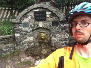 Werra-Ursprung auf dem Rennsteig-Radweg