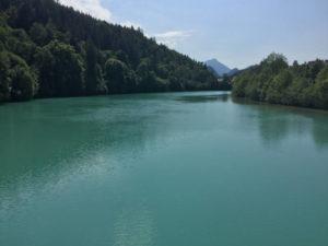 Lech Allgäuradweg in Füssen