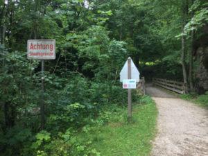 Staatsgrenze Bayern - Haidermühle und Österreich - Schwaiger - Idylle - Mozart-Radweg