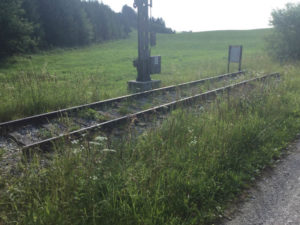 Bahnstrecke Kaufbeuren - Schongau - Sachsenrieder Forst - Allgäuradweg