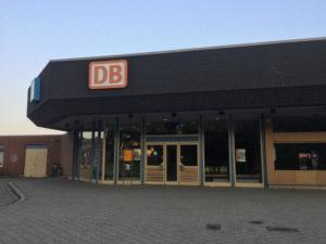 Bahnhof Kaufbeuren - 70er Jahre Style - Allgäu-Radweg