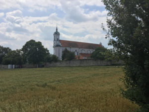 Kloster Klosterkirche Oberelchingen Donautälerradweg