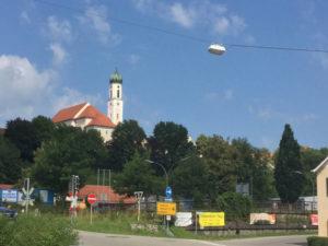 Schongau Lech - Allgäuradweg Romantische Straße