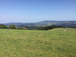 Breitnau - Naturfreundehaus - Aussicht - Schwarzwald-Radtour