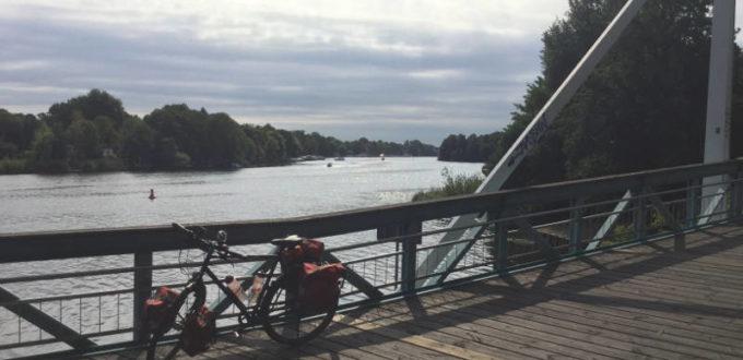 Berlin-Spandau - Havellandradweg bzw. Havelradweg