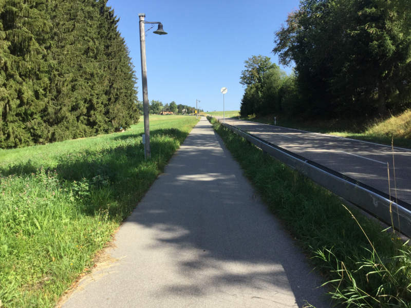 Fahrradweg - gute Fahrradwege in Breitnau im Hochschwarzwald