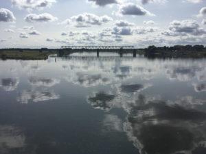 Wolken Lauenburg - Elbe - Elbe-Lübeck-Kanal - Elberadweg