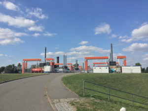 Kaltehofe-Hauptdeich - Hamburg - Industriekunst - Kunst - Elberadweg
