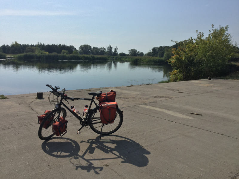 Die Havel bei Göttlin - Havelradweg