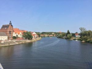 Havelberg - Kirche - Havel - Havelradweg