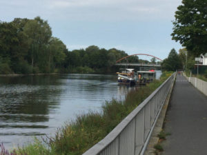 Hohenzollernkanal - Berlin-Spandauer Schifffahrtskanal - Berlin-Spandau - Berlin-Kopenhagen-Radweg