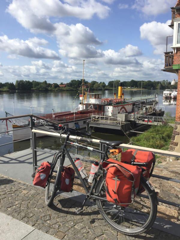 Elberadweg - Kilometer pro Tag - flach - Fahrradtour pro Tag