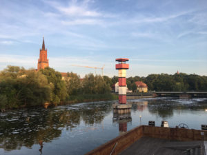 Rathenow an der Havel - Leuchtturm - Havelland-Radweg & Havelradweg