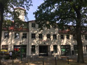 Rathaus Schönwalde-Glien -Schönwalde-Siedlung - Havelland_Radweg