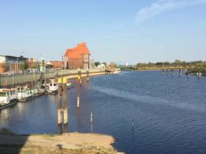 Wittenberge Hafen - Elbe - Elberadweg - Urlaubsstimmung