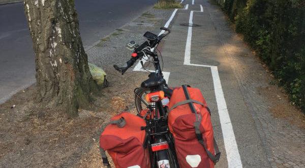 Zick-Zack-Radweg Berlin-Zehlendorf