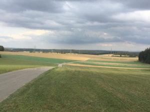 Höhenhöfe - Jettingen - Blick auf die Schwäbische Ostalb