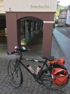 Hermann-Hesse-Platz Calw - Nagold - Nagoldtalradweg
