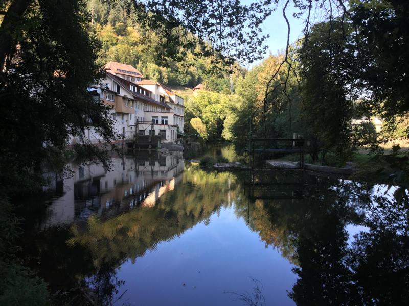 Calw Walkmühle - Nagoldtalradweg