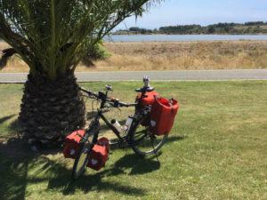 Leucate Frankreich Mittelmeer - Radtour - Radsport - Fahrrad - Babyeinhorn