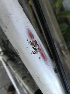 Rennrad - Schleifpapier - Rostumwandler - Lackieren
