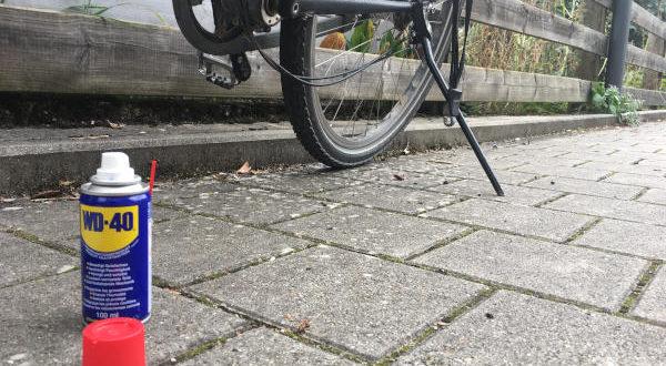 Fahrrad - Rost entfernen - Rost am Fahrrad