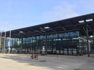 Fahrrad-Unterkünfte in Bonn - Bundeshaus
