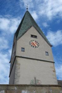 Kirche Hildrizhausen - Würmtalradweg