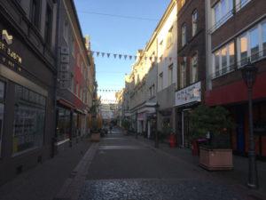 Fußgängerzone Neuss am Rhein