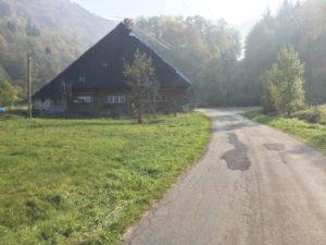 Südschwarzwald-Radweg - Oberried - Schwarzwaldhaus