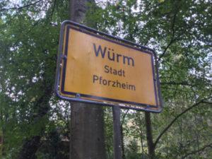 Würm - Pforzheim - Würmradweg